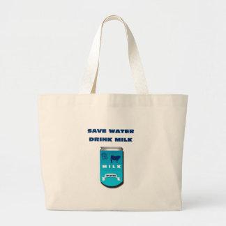 Grand Tote Bag lait