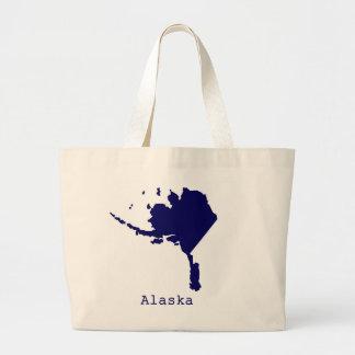 Grand Tote Bag L'Alaska minimal Etats-Unis
