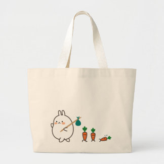 Grand Tote Bag Lapin de marche