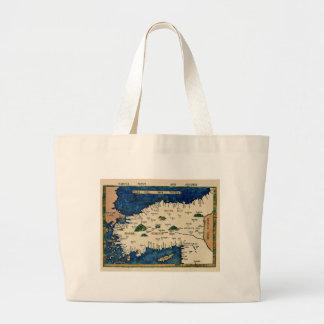 Grand Tote Bag L'Asie 1513