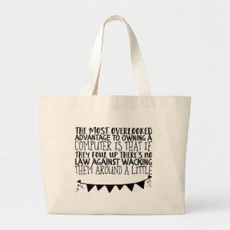Grand Tote Bag L'avantage le plus négligé à posséder a