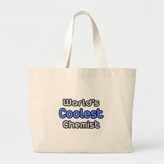 Grand Tote Bag Le chimiste le plus frais du monde