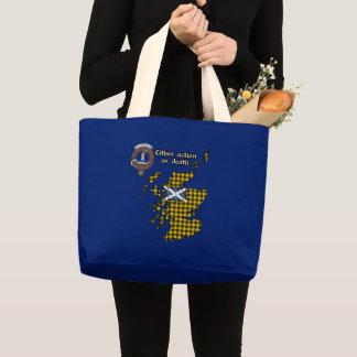 Grand Tote Bag Le clan de Barclay Badge Fourre-tout enorme