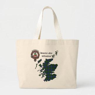 Grand Tote Bag Le clan de Fergusson Badge Fourre-tout enorme