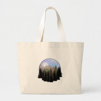 Grand Tote Bag Le globe de la nature