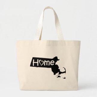 Grand Tote Bag le Massachusetts