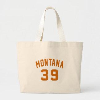 Grand Tote Bag Le Montana 39 conceptions d'anniversaire