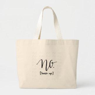 Grand Tote Bag Le mouvement imitation n'a inspiré aucune fois