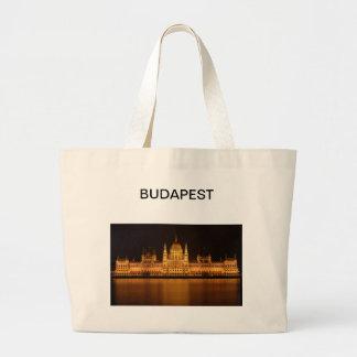 Grand Tote Bag Le Parlement extraordinaire à Budapest