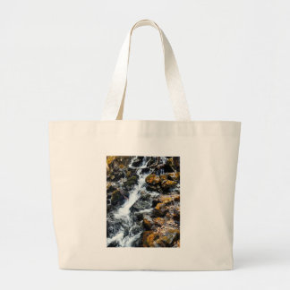 Grand Tote Bag Le pionnier tombe butte Alaska