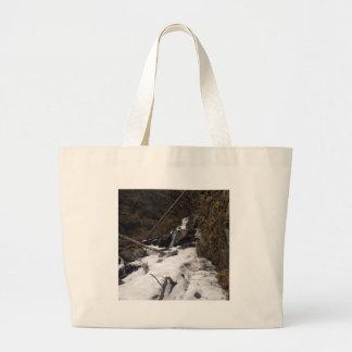 Grand Tote Bag Le pionnier tombe butte Alaska