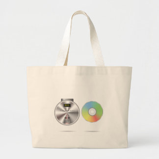 Grand Tote Bag Lecteur de CD