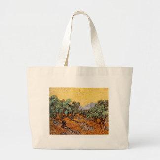 Grand Tote Bag Les oliviers de Vincent Van Gogh (Olives trees)