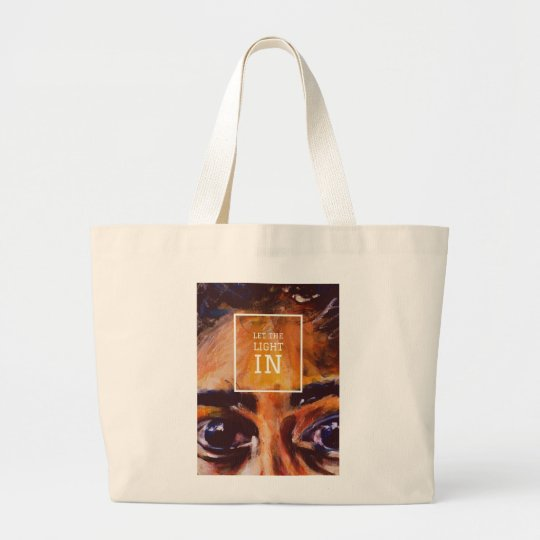 Grand Tote Bag let the light in