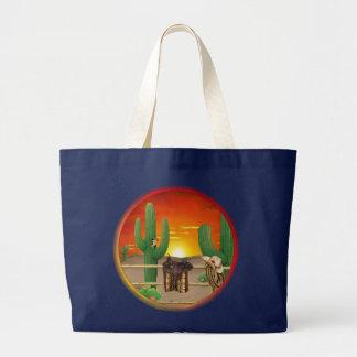 Grand Tote Bag Lever de soleil occidental