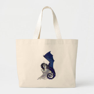 Grand Tote Bag Licorne et dragon À AILES