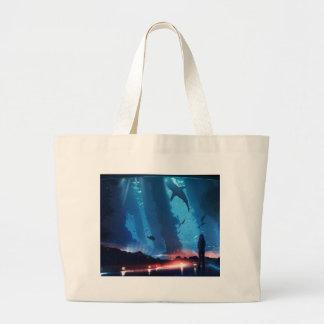 Grand Tote Bag L'imagination puissante des enfants