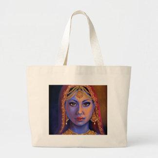 Grand Tote Bag L'Inde : Jeune mariée