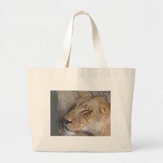 Grand Tote Bag Lionne de sommeil
