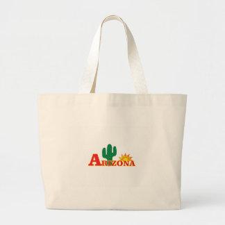 Grand Tote Bag Logo de l'Arizona simple
