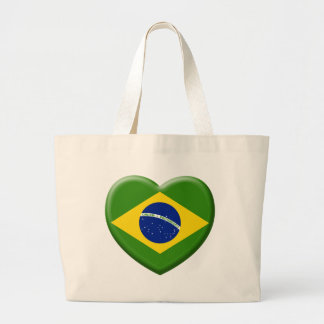 Grand Tote Bag Love Brésil Samba