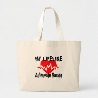 Grand Tote Bag Ma ligne de vie conceptions de emballage de sports