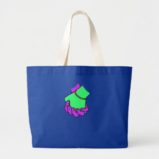 Grand Tote Bag Main d'art de bruit tenant Fourre-tout enorme