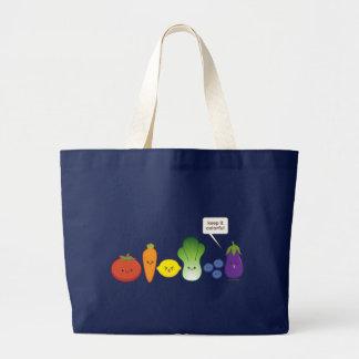 Grand Tote Bag Maintenez-le coloré (la conception simple)