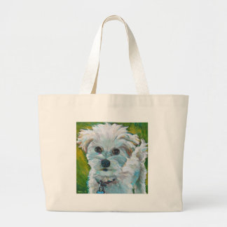 Grand Tote Bag MALTIPOO adorable