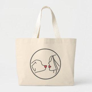 Grand Tote Bag Mamans Fourre-tout de chien