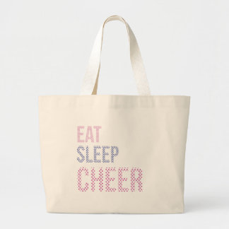 Grand Tote Bag Mangez le sommeil Cheer-03