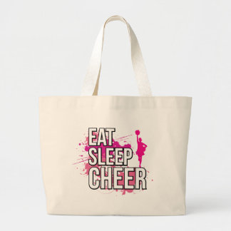 Grand Tote Bag Mangez le sommeil Cheer-04