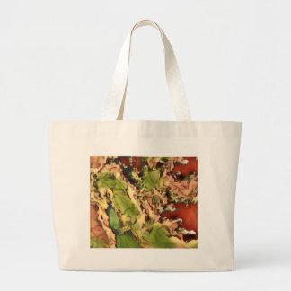 Grand Tote Bag Marbre comme des couleurs de fête saisonnières