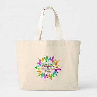 Grand Tote Bag Marchant plus d'amusement