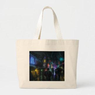 Grand Tote Bag Matins pour des personnes de la nuit