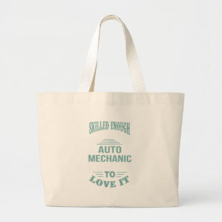 GRAND TOTE BAG MÉCANICIEN AUTOMOBILE