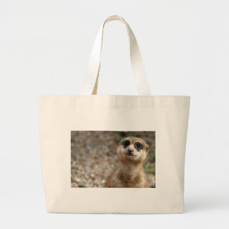 Grand Tote Bag Meerkat Grand-Eyed mignon