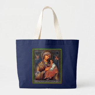 Grand Tote Bag Mère d'aide perpétuelle