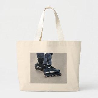 Grand Tote Bag Mes lames de rouleau de pieds