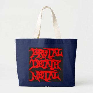 Grand Tote Bag Métal brutal de la mort