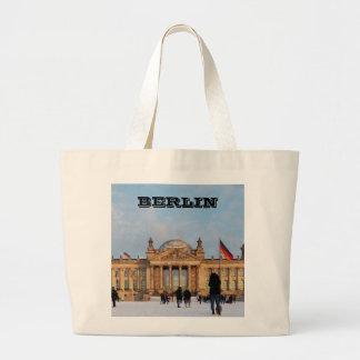 Grand Tote Bag Milou Reichstag_001.02 (Reichstag im Schnee)