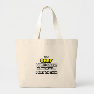 Grand Tote Bag Miracles et chefs… drôles