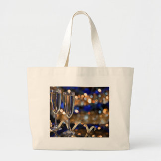 Grand Tote Bag Miscellaneous - Golden Champagne Cup Pattern Three