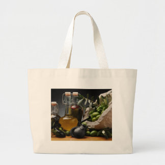 Grand Tote Bag Miscellaneous - Oil & Olives Patterns Five
