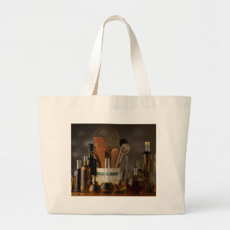 Grand Tote Bag Miscellaneous - Oil & Olives Patterns Four