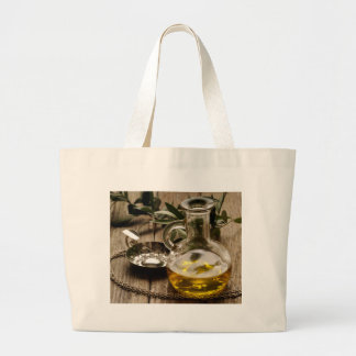 Grand Tote Bag Miscellaneous - Oil & Olives Patterns Two