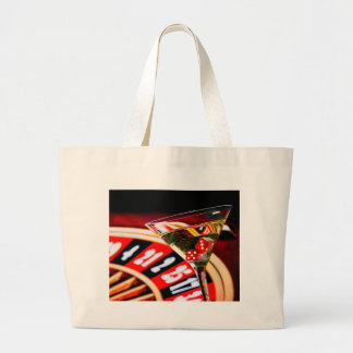 Grand Tote Bag Miscellaneous - Red Dices & Champagne Four