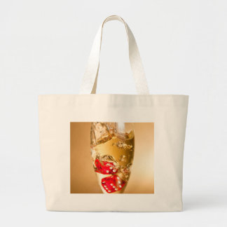 Grand Tote Bag Miscellaneous - Red Dices & Champagne One