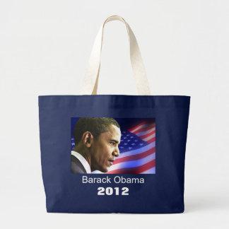 Grand Tote Bag Mon Président Barack Obama 2012 (drapeau)