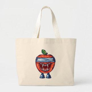 Grand Tote Bag Monstre Apple